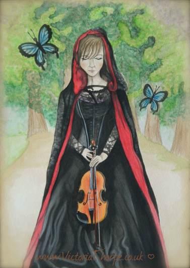Tea & Watercolour Painting