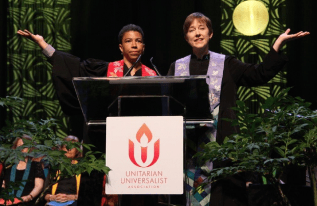 melora and shana at uua