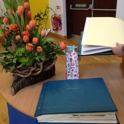 Memory Books with our children's stories.