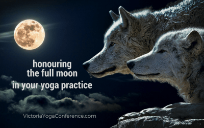 Honouring the Full moon in your Yoga Practice
