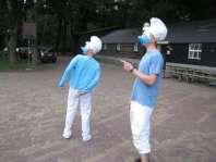 Smurftastisch: Charles en Michael