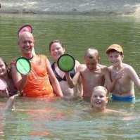 Lekker spelen in het water