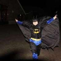 Marian als Batman