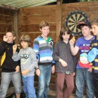 Rode draad groepje met Jens, Binke, Milan, Sandor, Damiën en Nathan