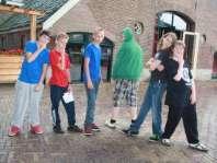 Rode draad groepje: Sven, Giovanni, Mike, Matthijs, Mees en Luuc