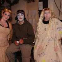 Geerke, Charles en Bianca zien er spookachtig eng uit!