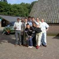 Groepsfoto leiding Victorie Zomerkamp 2004