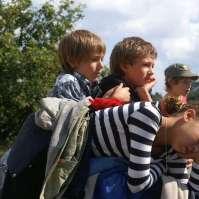 Nathan, Levi en Demi rusten even uit