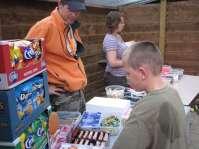 Snoepjes kopen bij de toko