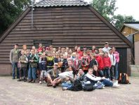 Groepsfoto Victorie Zomerkamp 2007