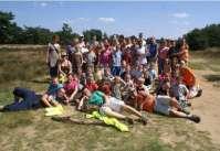 De groepsfoto van het Victorie Zomerkamp 2008
