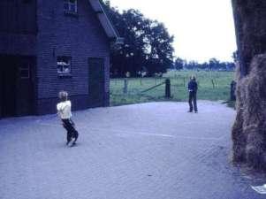 Spelletjes op de boerderij