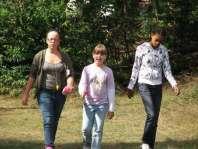 Jodie, Linsey en Bjula