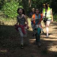 Joyce en Emma op volle snelheid