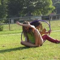 Ook Lieve en Rima testen de hindernisbaan