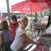 Jessie heeft nog geld voor een ijsje