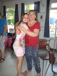 Joyce en haar moeder