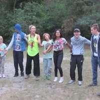 Kennismakingsspelletjes in het bos