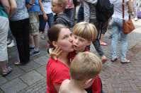 Ook Tynko krijgt een warm ontvangst terug in Dordrecht