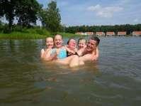 Lekker gek doen in het water