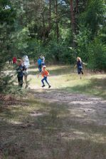 Lekker rennen in het bos