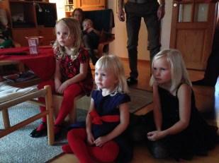En bild på någon som du firade jul tillsammans med - Anna, min härliga svägerska, och hennes ungar fanns med på julafton, tillsammans förstås med svågrar, och svägerska, svärmor och svärfar och en drös andra. Mamma och pappa träffade vi på annandagen och ett par dagar efter nyår fick vi en bonusjul med Kajsa, Stephan och Tobbe.
