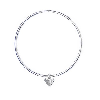 MINI HEART CHARM BANGLE