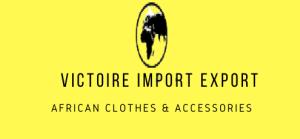 Victoire Import Export Logo yellow rect