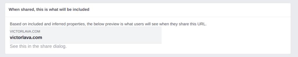 Facebook Share Doesnt Work