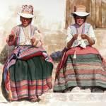 """""""Hilanderas"""" (1658) by Victor Martinez"""