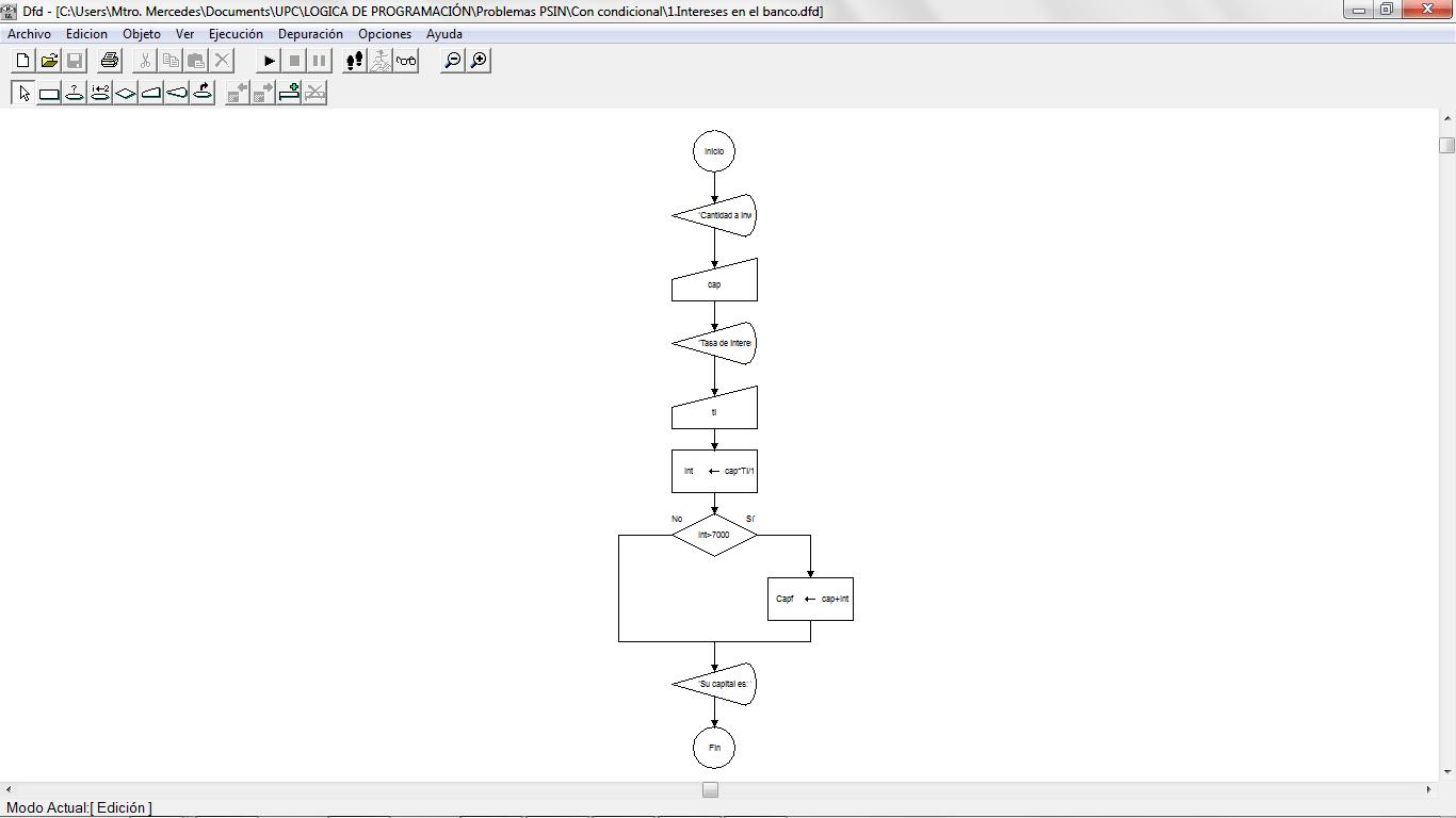 Algoritmos Con Estructura Condicional Simple