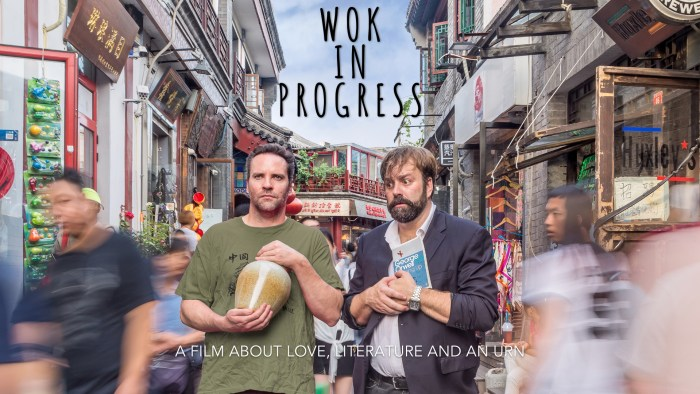 What I'm Currently Working On: Wok In Progress - A bilingual dramatic-comedy set in China