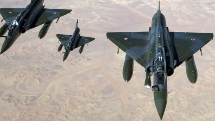 French fighter jets in formation as West leverages Paris attacks for Syria endgame