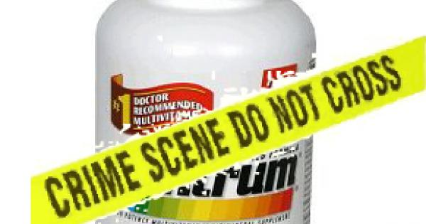 Is your multivitamin toxic?