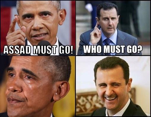 Assad Must Go!