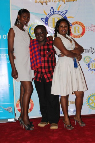 Red carpet moment... Carol, Betty and I