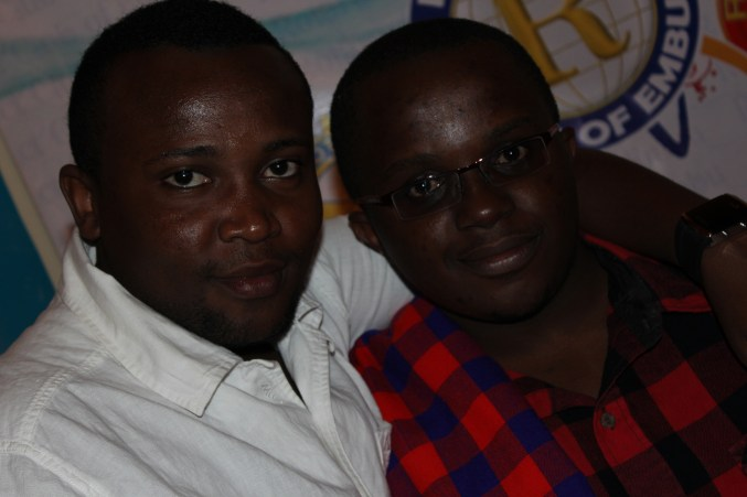 My boy Dj Shaqa and I
