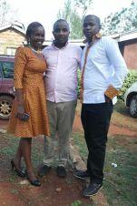 Rose, my small bro nesh and Mato