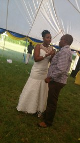 The Bride Gasheri and Dr. Itumbi (a friend to the couple)