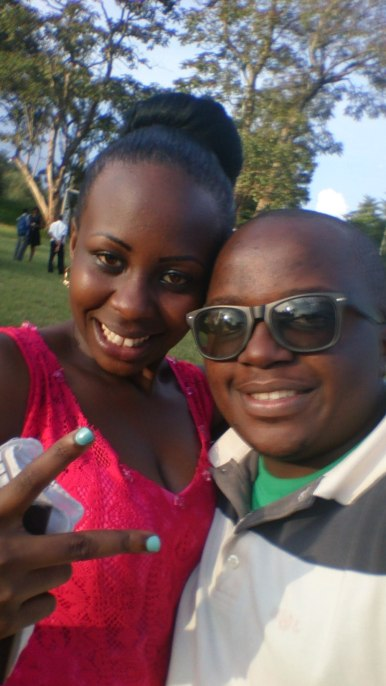 My childhood buddy Yvonne and I having a selfie moment during the Butterfly Wedding
