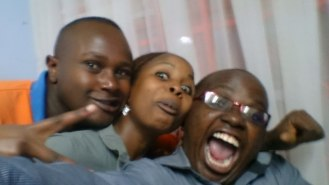 Selfie moments after Rotaract meeting
