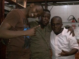 We Them Boyz - Dj Whisper, Karis the Donn and myself in a past party