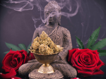 Meditation cannabis