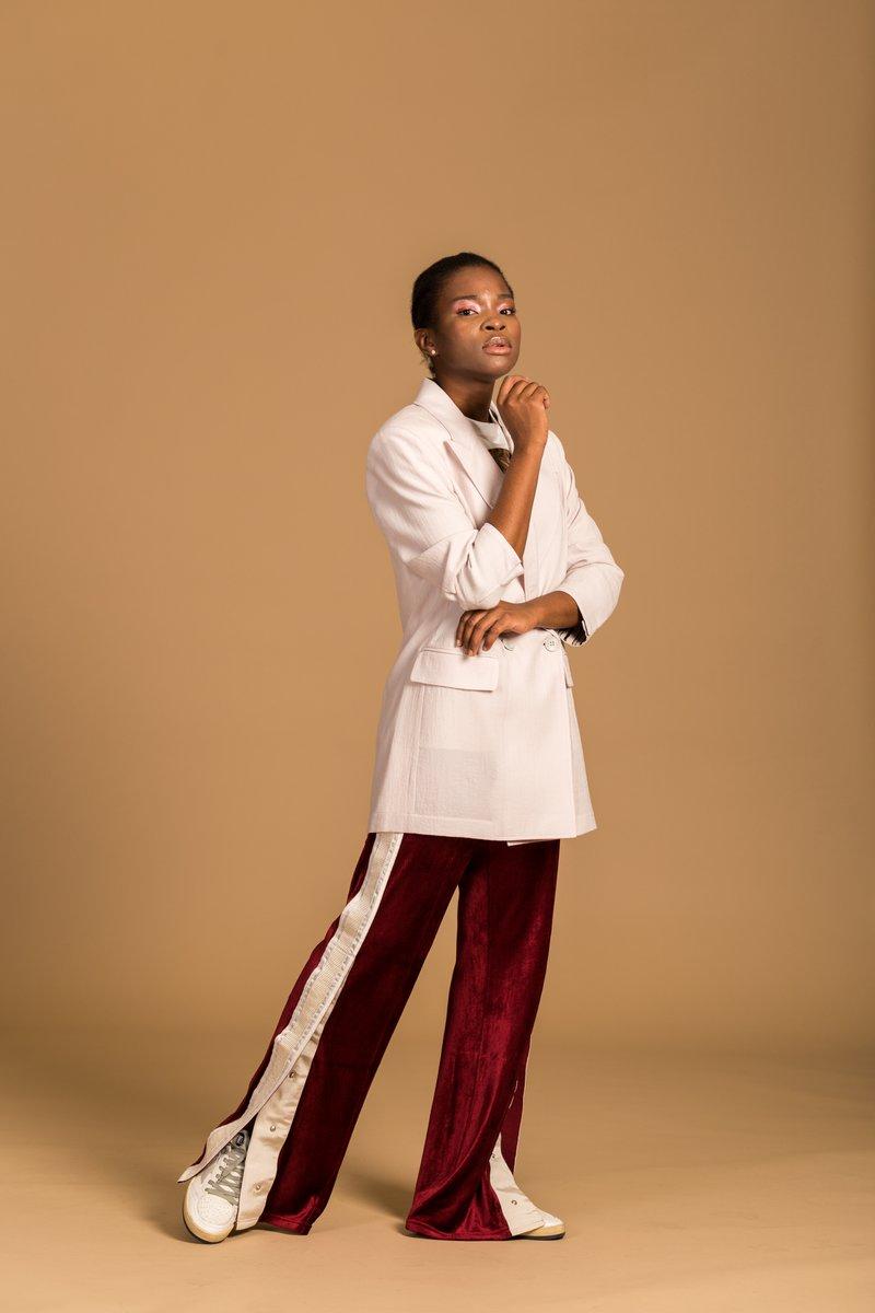 styling a pink blazer