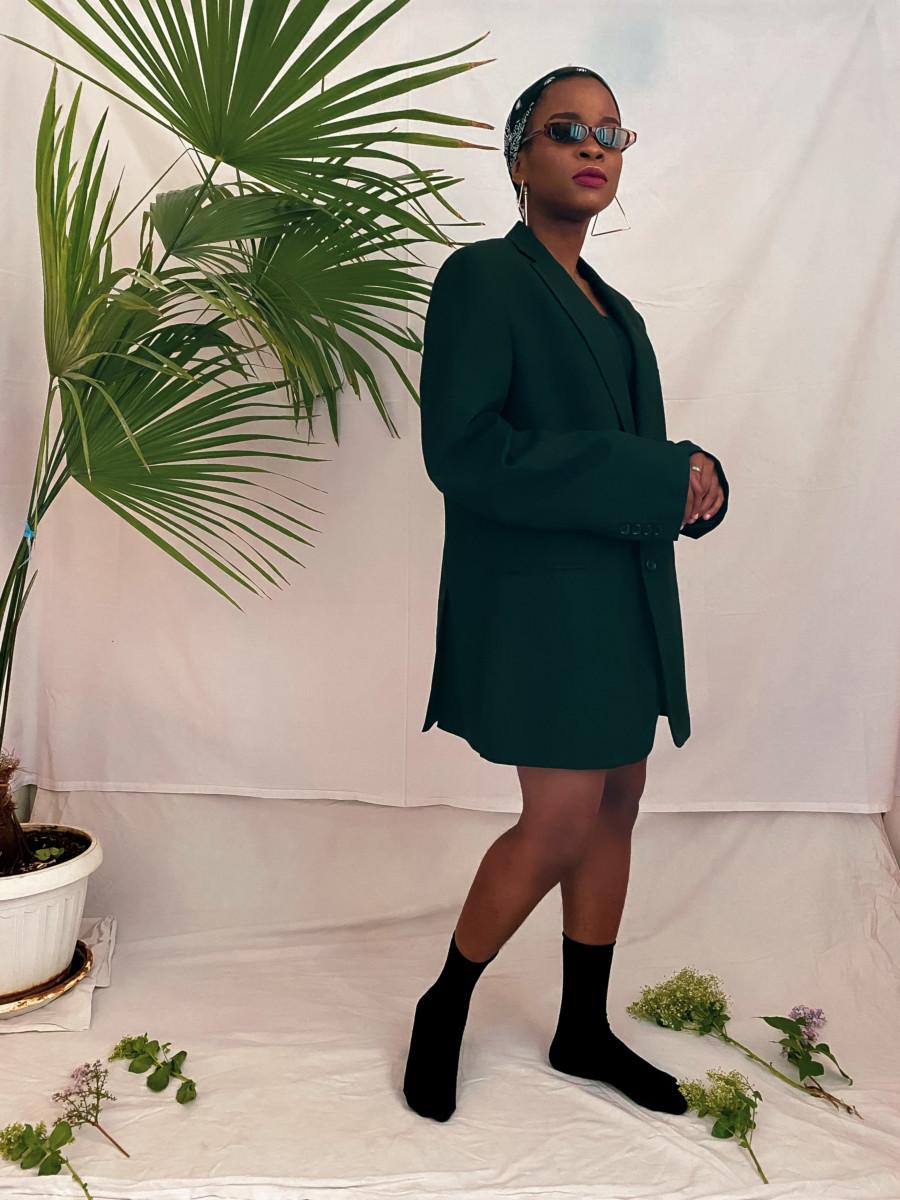 Blazer dress Pinterest