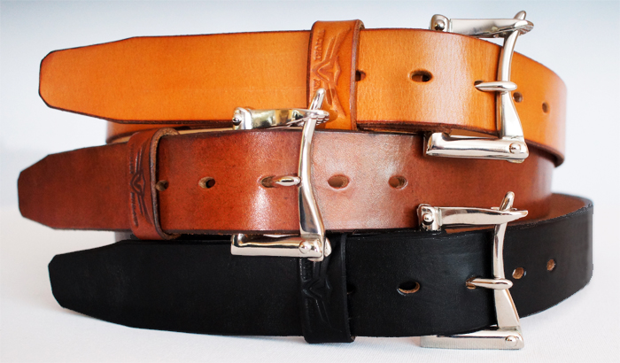 bridle leather firefighter belts