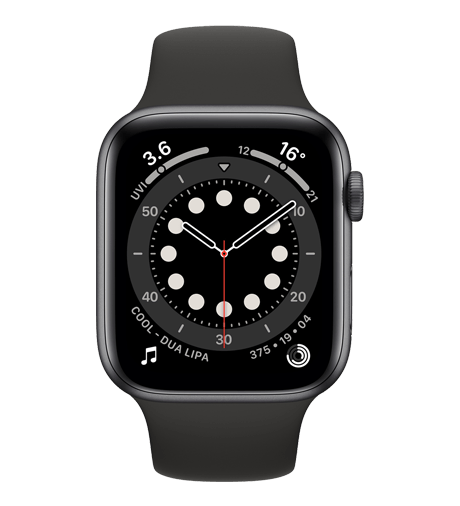 Apple Watch Series 6 in Graphite Stainless Steel