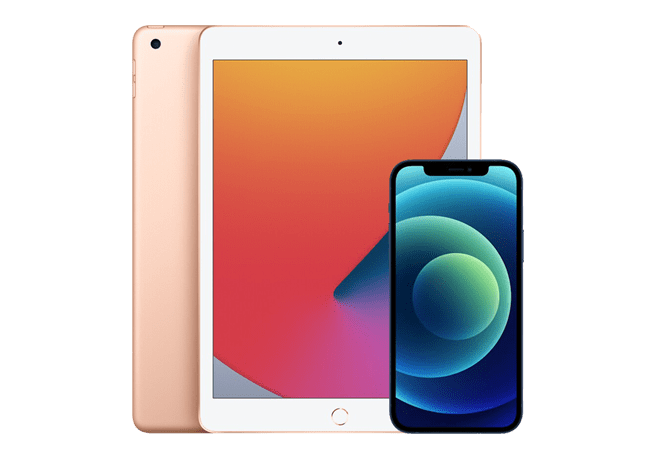 Pair an iPad with an iPhone and save
