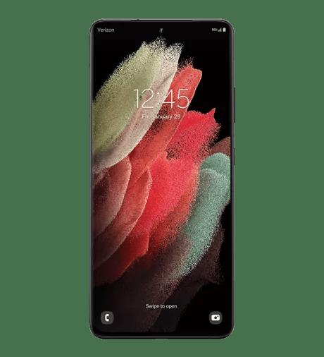 Samsung Galaxy S21 Ultra 5G in Phantom Black
