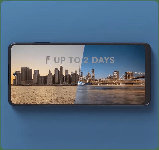 Moto Edge 5G UW Battery Life